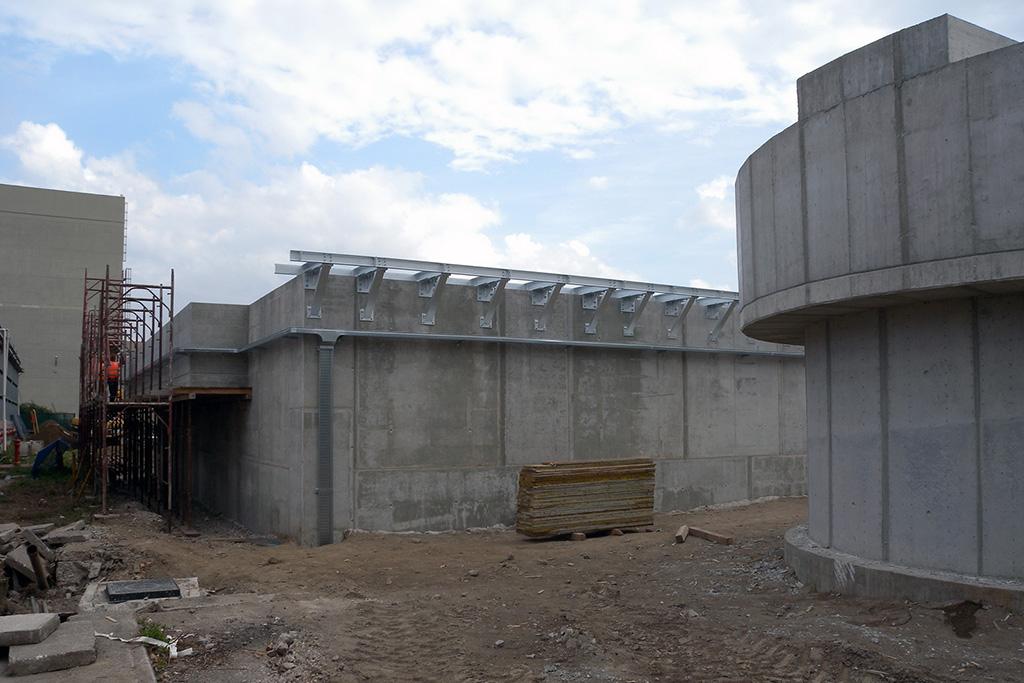 Nuovo impianto di abbattimento nitrati delle acque provenienti dall'impianto M.I.S.E