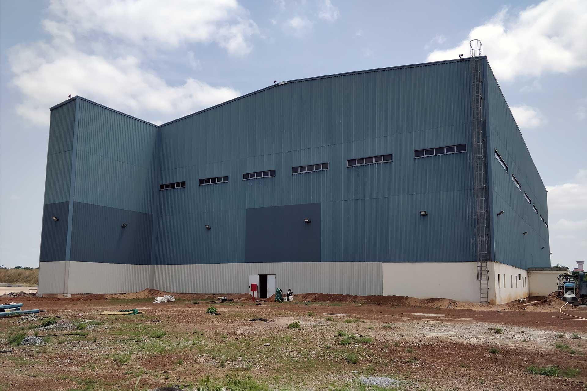 Opere integrative per il completamento di un Hangar presso l'aereoporto di Ilorin in Nigeria