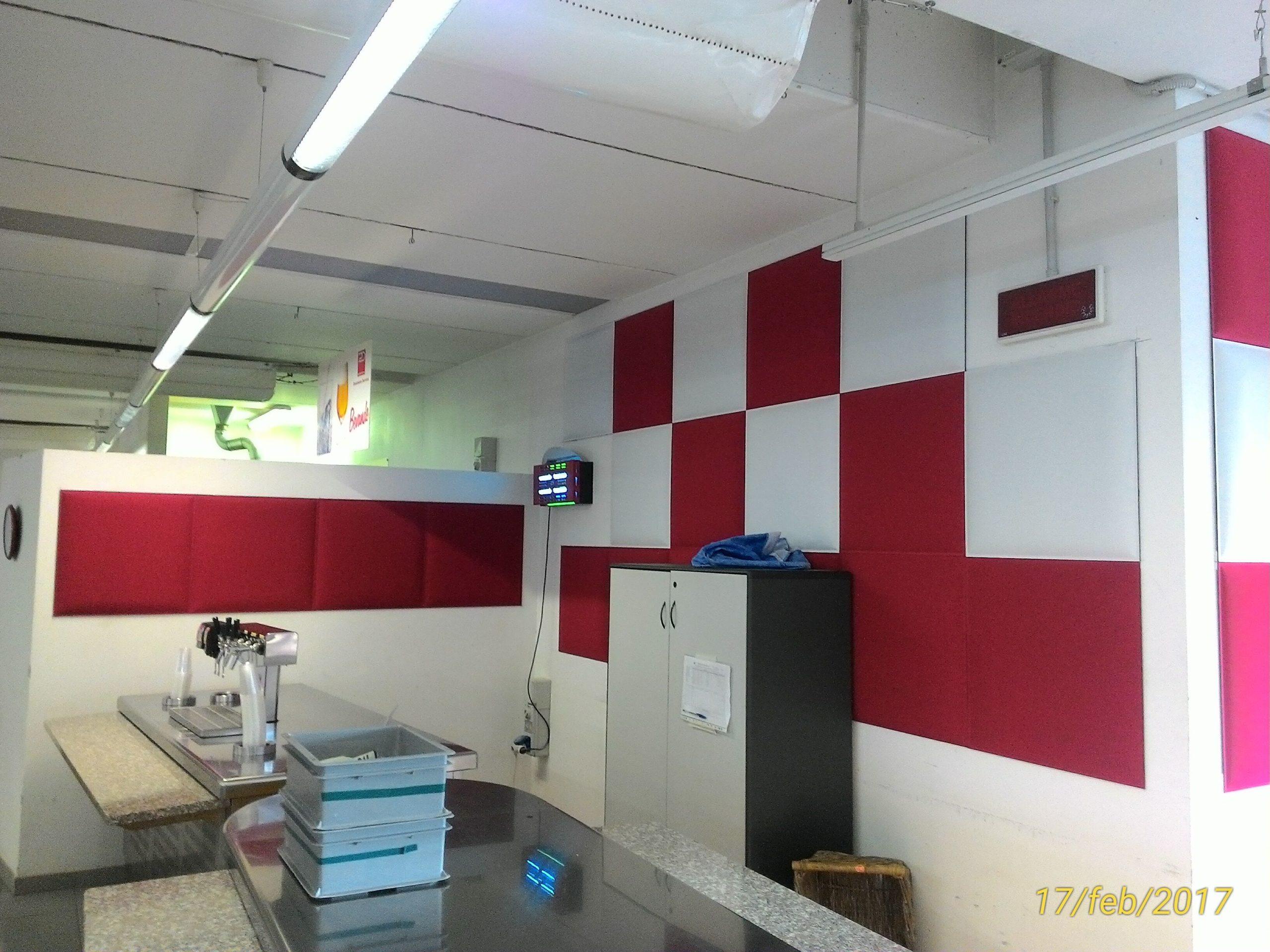 Gruppo Ingegneria Torino - Adeguamento acustico dei locali destinati a mensa aziendale presso siti industriali