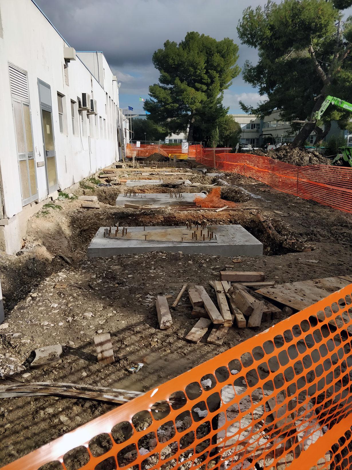Gruppo ingegneria Torino - Consolidamento sismico di un fabbricato mensa in sito industriale