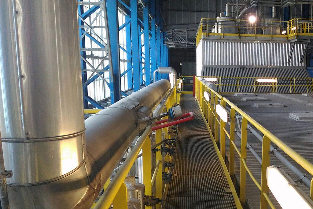 Lavori di adeguamento degli spazi manutentivi del termovalorizzatore di Torino