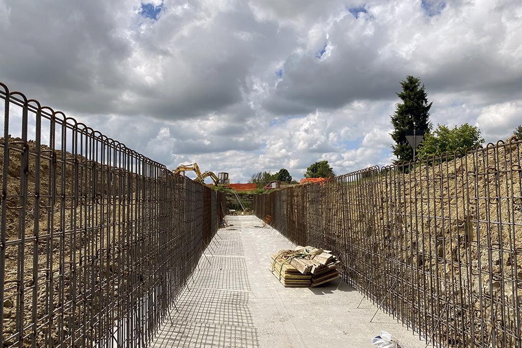 Interventi di sistemazione idraulica nella zona Valle San Giovanni