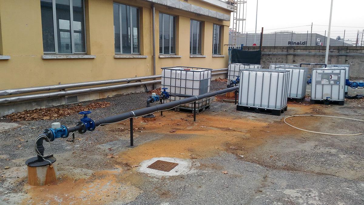 Gruppo ingegneria Torino - intervento di bonifica della falda per stabilimento industriale