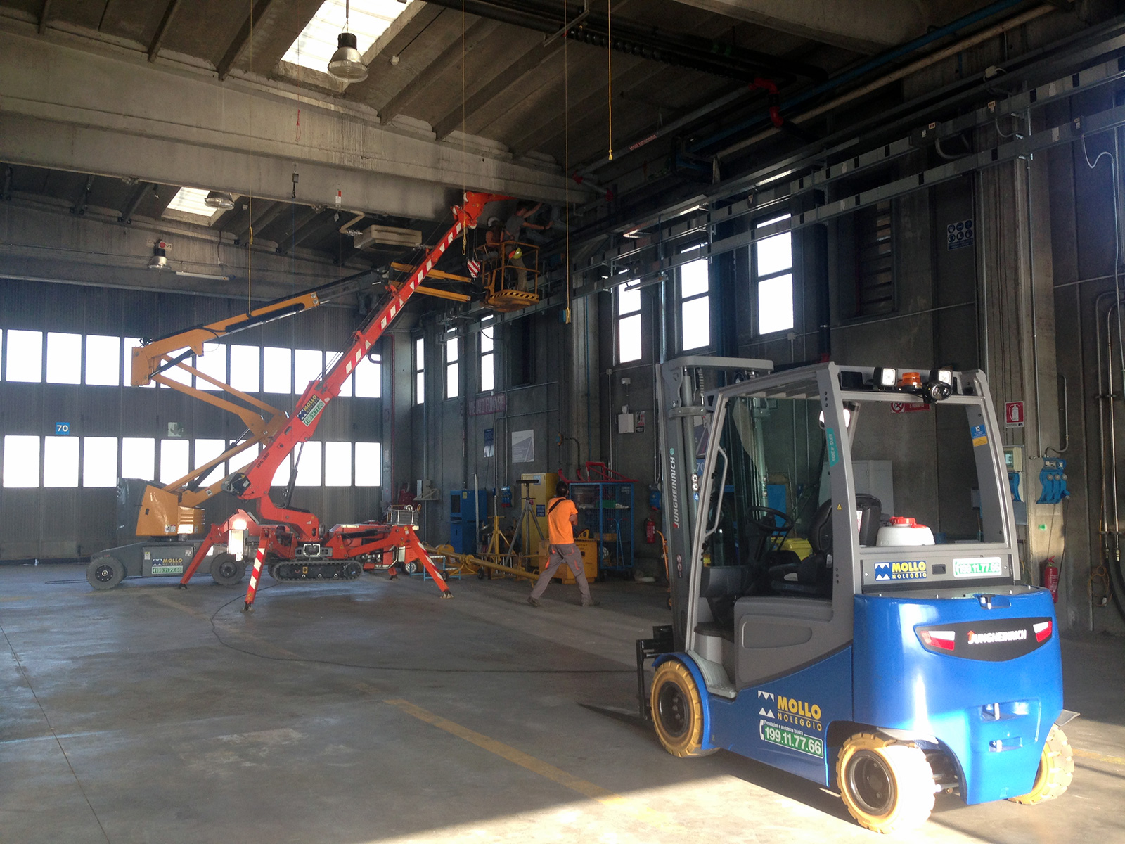 Gruppo ingegneria Torino - Miglioramento sismico fabbricato industriale