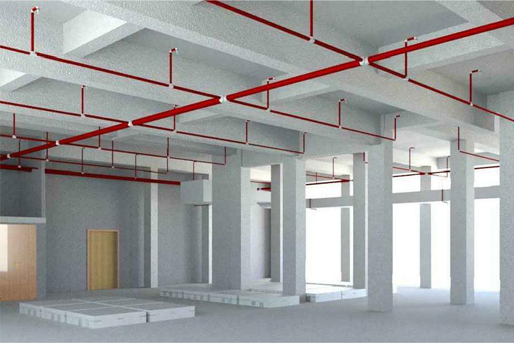 Edificio D – interventi di adeguamento prevenzione incendi